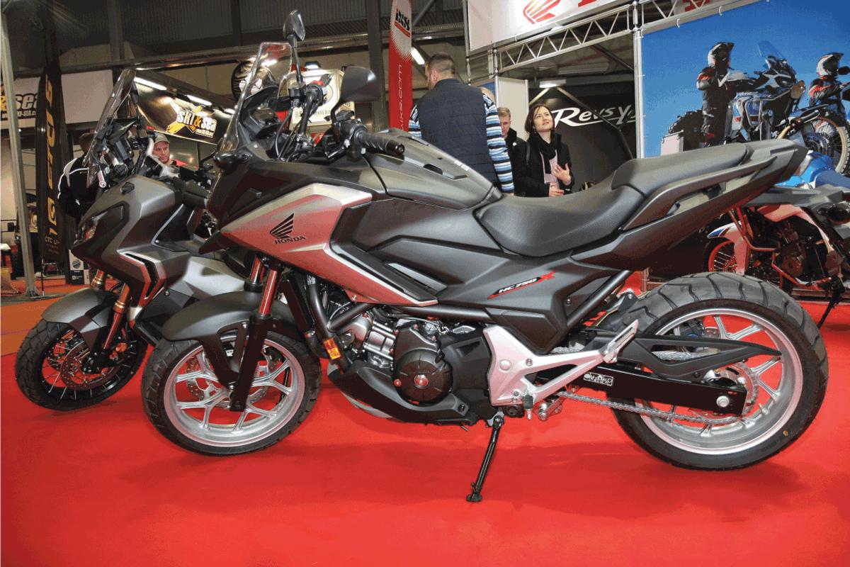 Honda NC 750 X at DDOR BG Car Show in Serbia