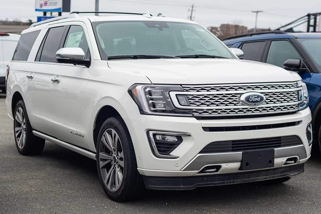 New model Ford Expedition seven passenger suv at Ford dealership, What Are The Ford Expedition Cargo Space Specs? [Breakdown By Trim Level]
