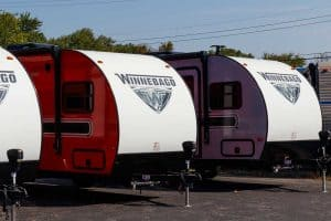 Read more about the article 15 Best Travel Trailers Under 4,000 Pounds