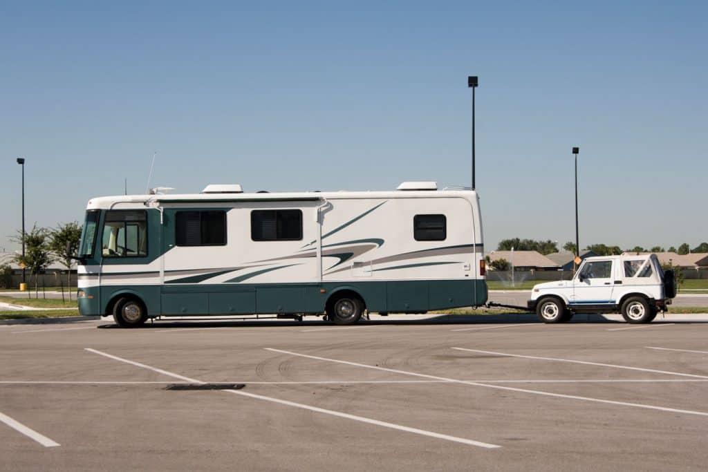 Boondocking overnighter camper