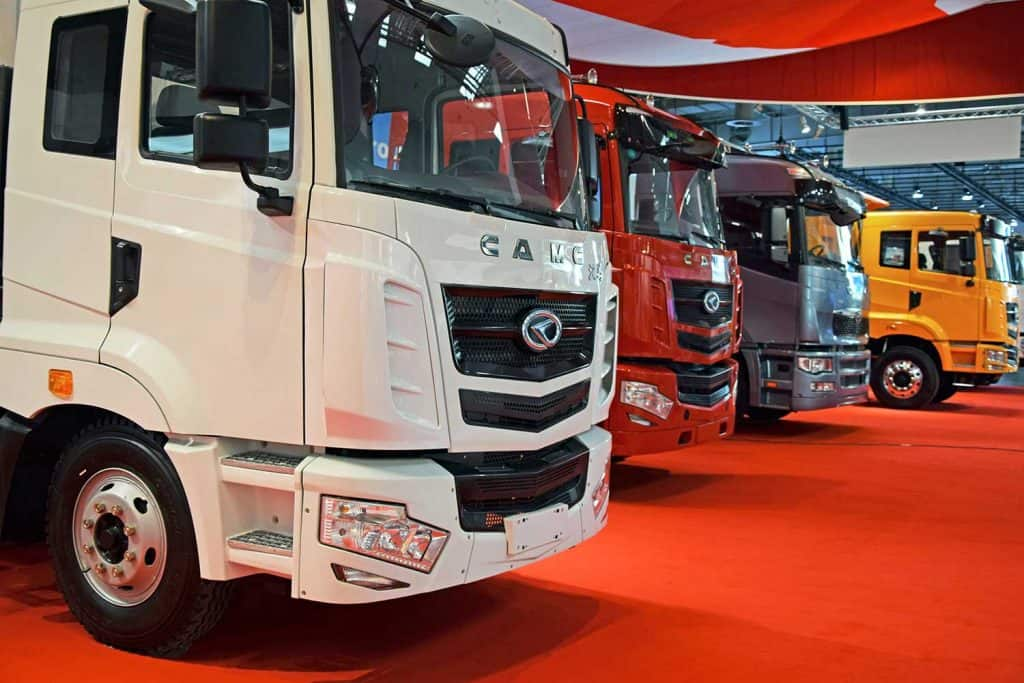 CAMC - Chinese heavy duty trucks on the motor show
