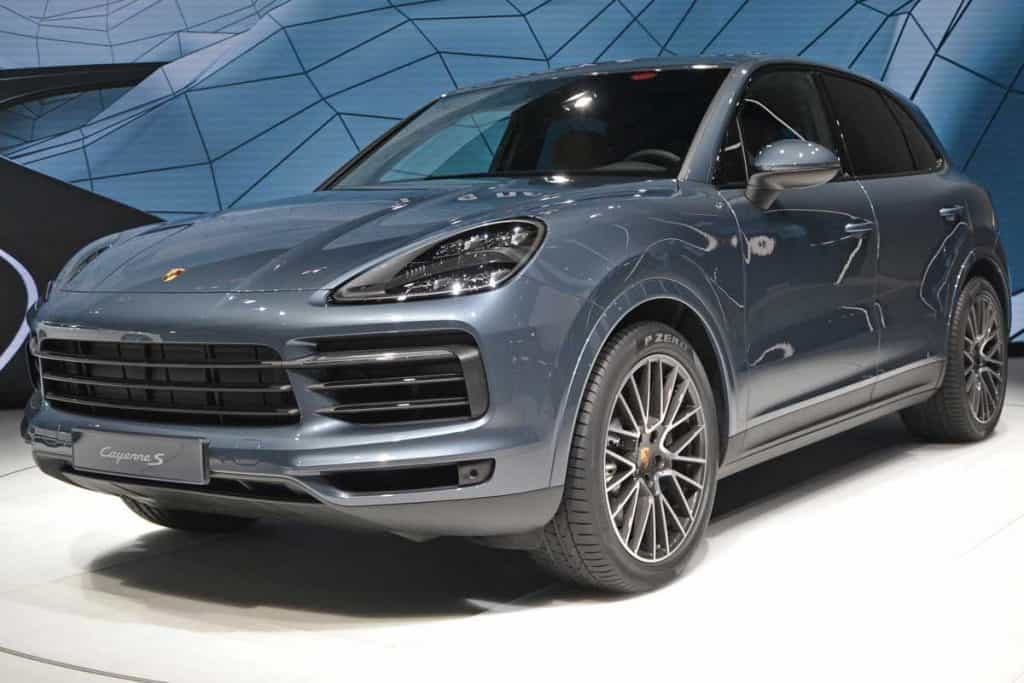Porsche Cayenne S on car motor show, What SUVs Have V6 Engines In 2021? [A Look At Midsize And Full-Size SUVs]