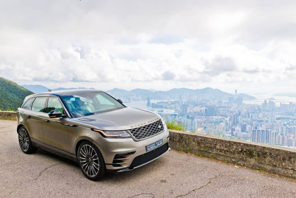 Range Rover Velar 2017 Test Drive Day with stunning view of the city, What SUVs Have A Hands-Free Liftgate?