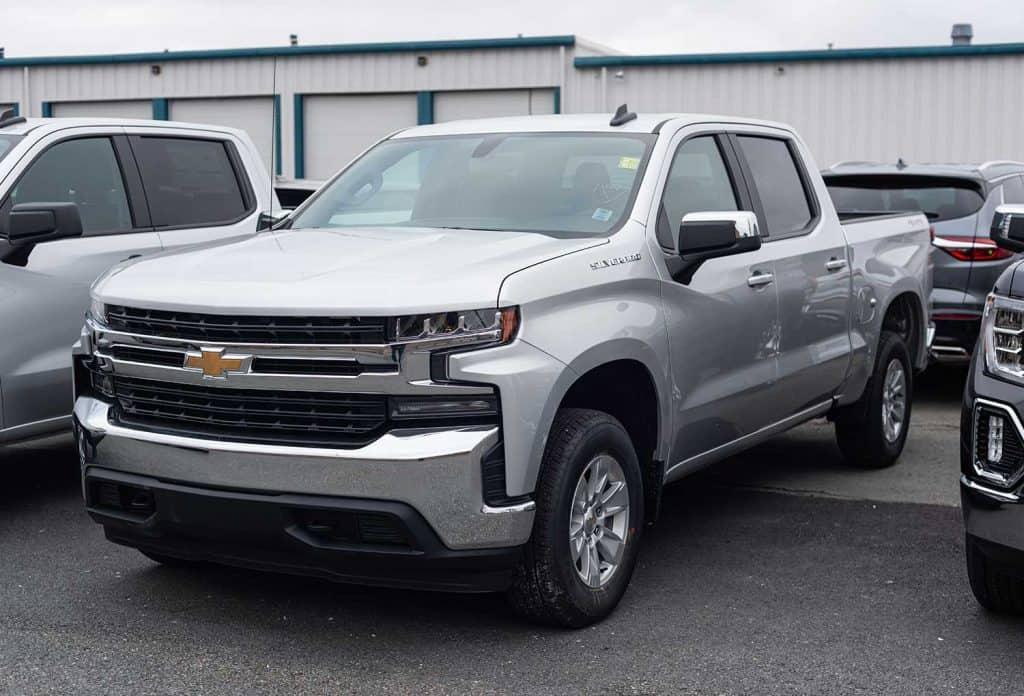 2021 Chevrolet Silverado 1500 pickup truck