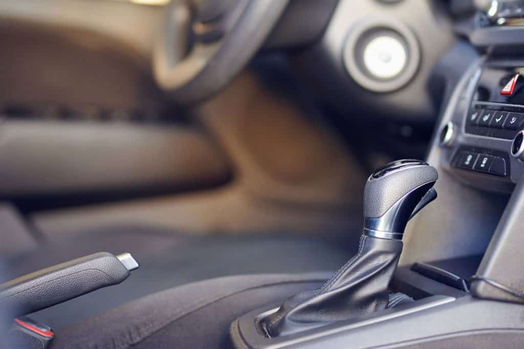Automatic car gearbox and handbreak handle close up view,Can You Activate Sport Mode While Driving?