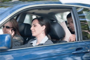 Read more about the article Can You Have A Passenger While Driving For Uber, Lyft, Uber Eats, Or Doordash?