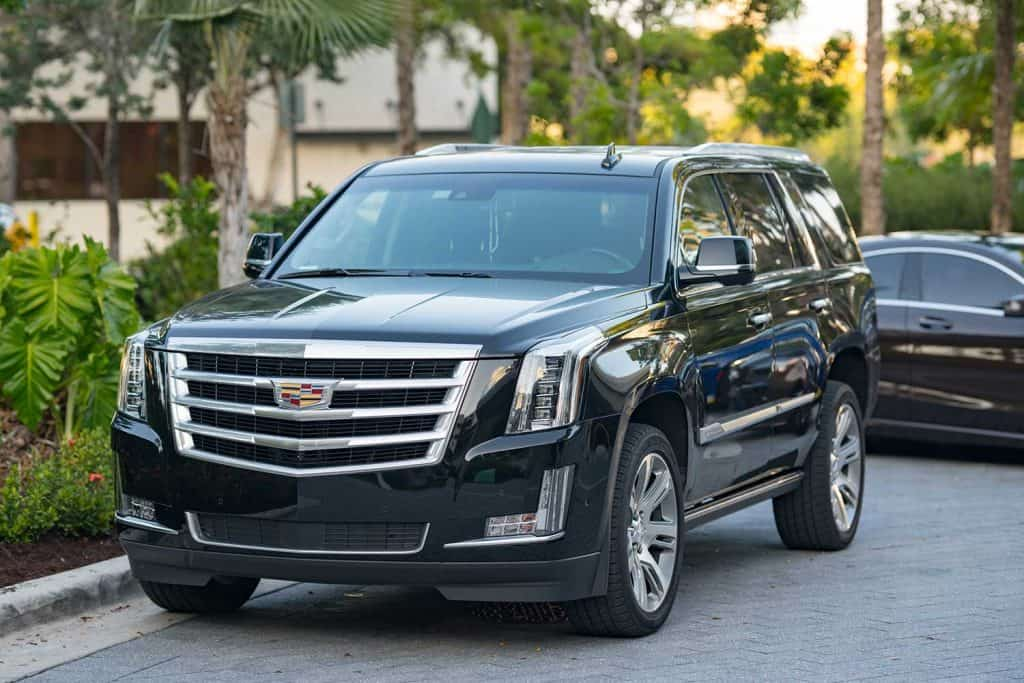 Cadillac Escalade a luxury limon SUV
