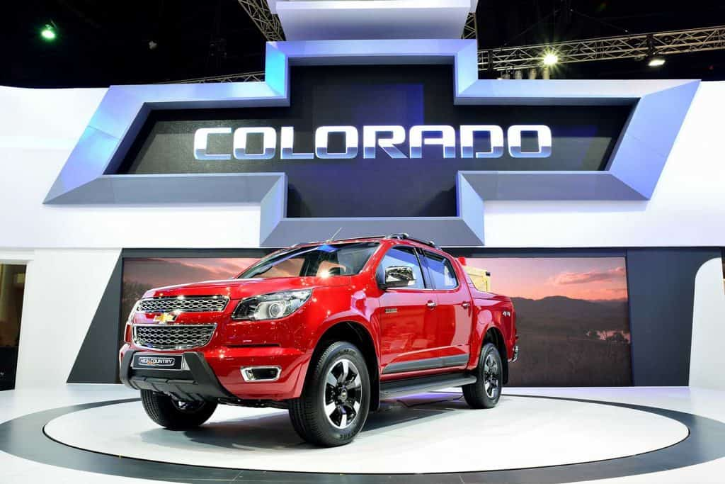 Chevrolet Colorado High Country on display