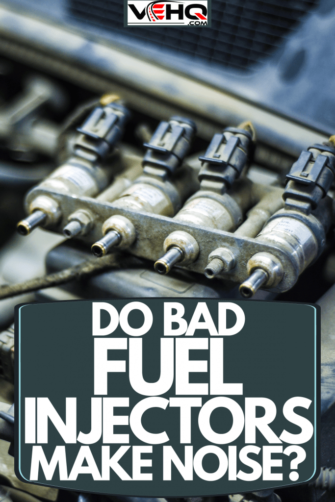 An up close photo of a car engine fuel injector, Do Bad Fuel Injectors Make Noise?