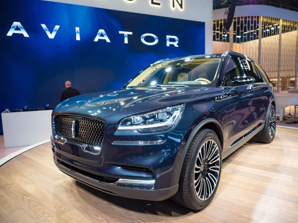 Lincoln Aviator at the 2018 New York International Auto Show