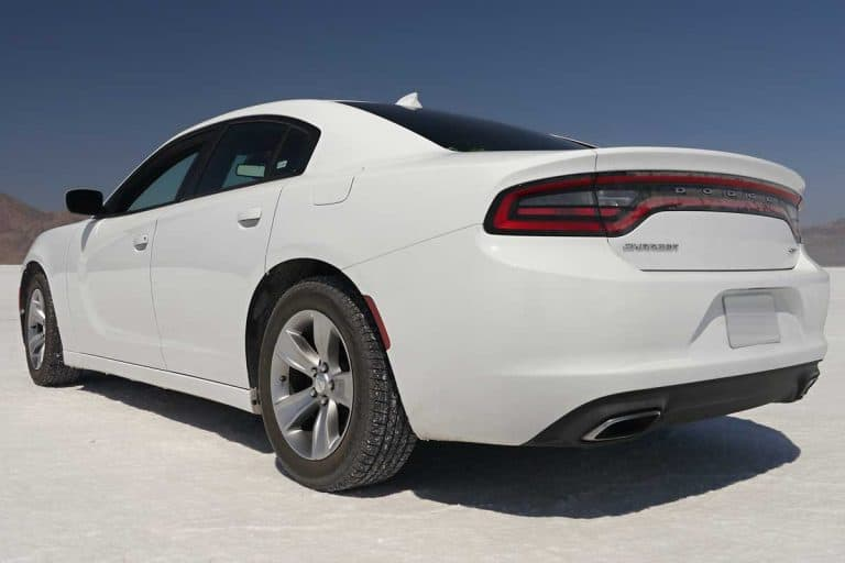 Dodge Charger SXT on a snow terrain, Is The AWD Charger Good In Snow?