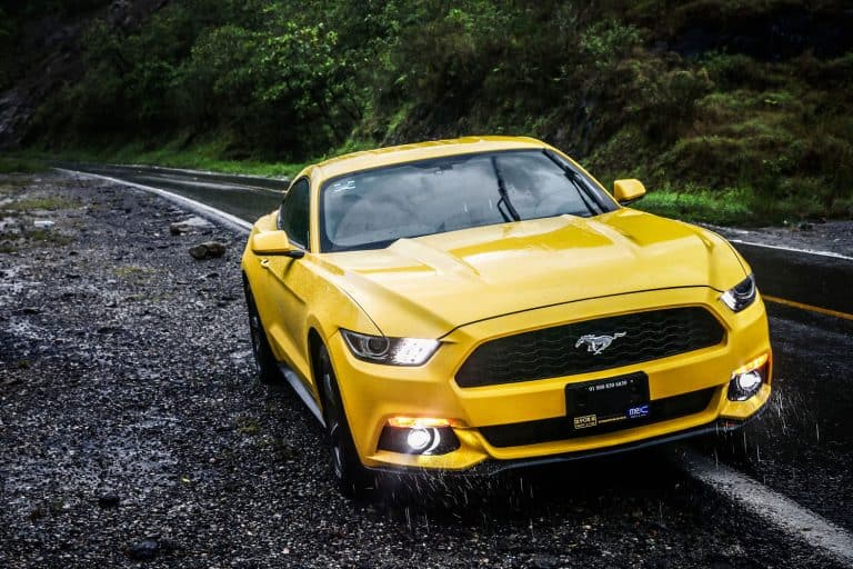 Yellow sportcar Ford Mustang at the interurban road, Ford Mustang Not Starting - What To Do?