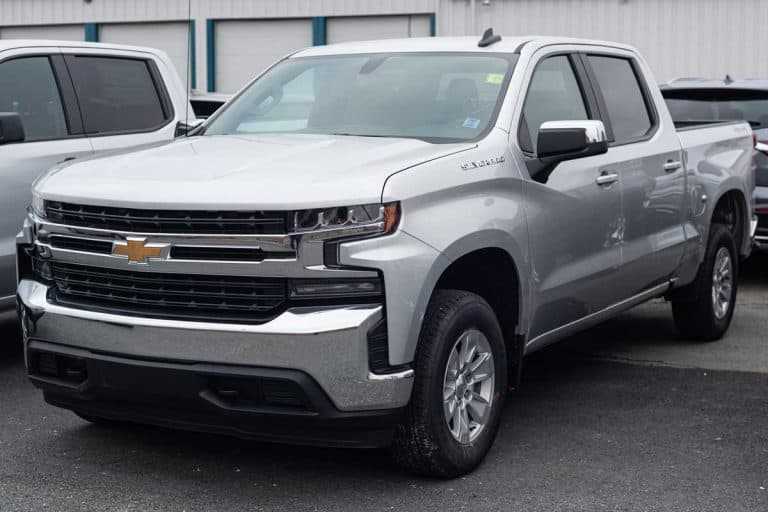 A 2021 Chevrolet Silverado 1500 Pickup Truck at a dealership, How Much Weight Can A Chevy 1500 Carry?