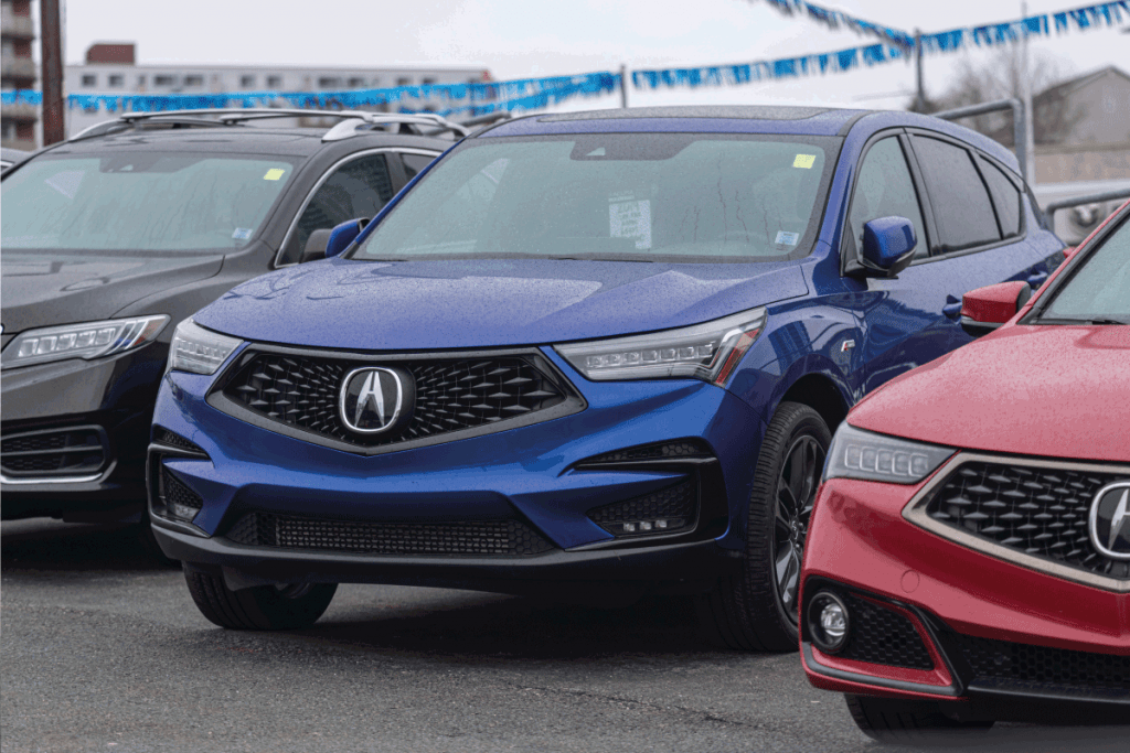 Acura-RDX-Crossover-at-a-dealership.-What-Acura-Vehicles-Are-AWD