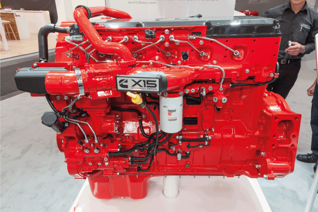 Cummins X15 Efficiency Series heavy duty diesel engine at the Commercial Vehicles Trade Fair. Can You Bore A 5.9 Cummins
