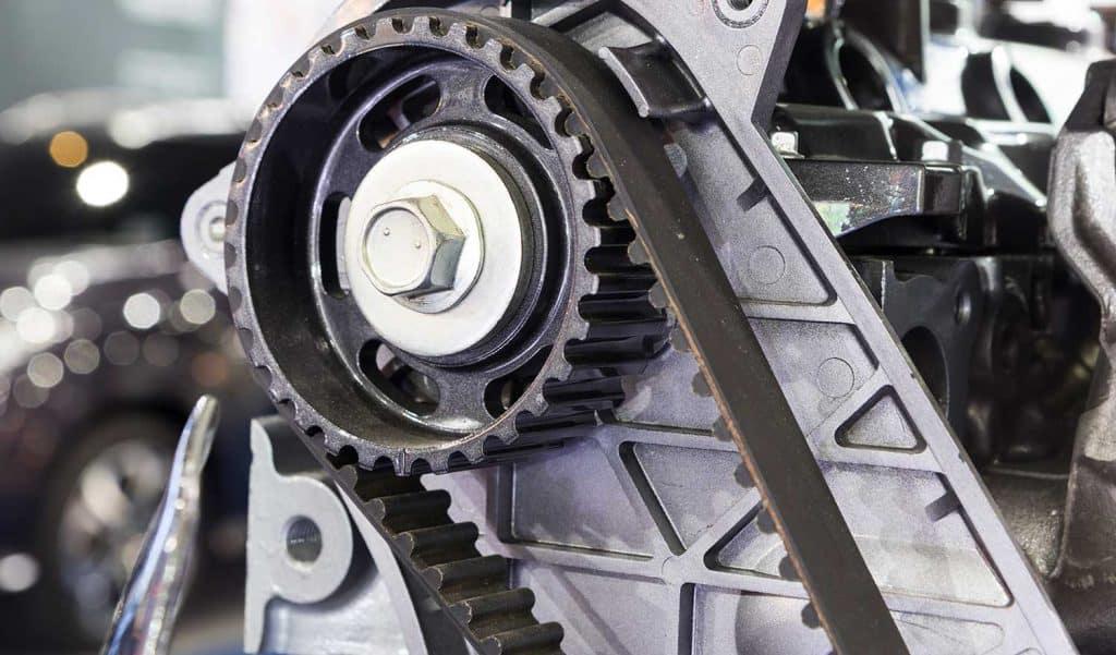 Diesel engine timing belt