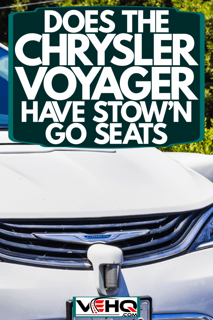 A Chrysler Voyager grill photographed up close, Does The Chrysler Voyager Have Stow 'n Go Seats?