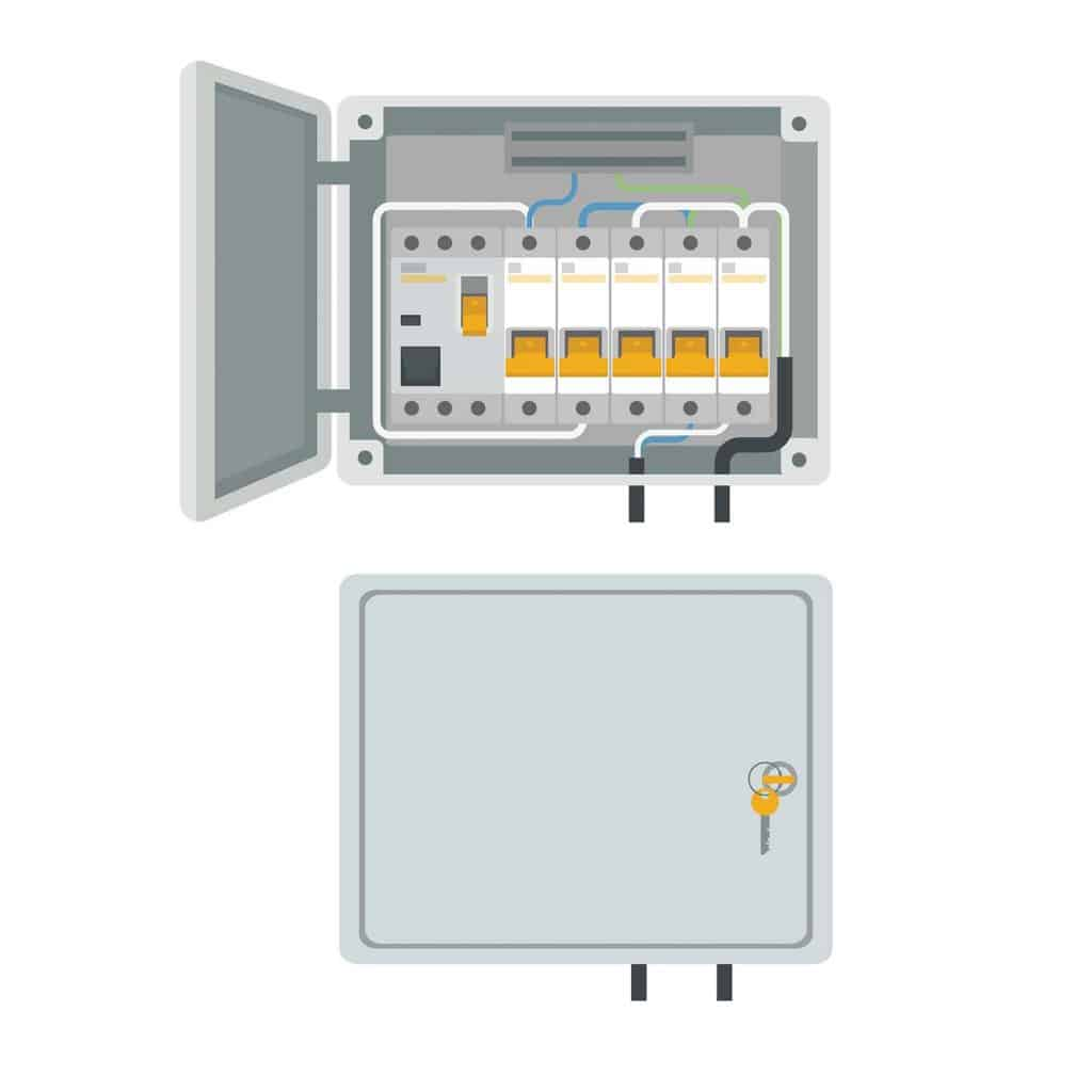 Electrical power switch panel