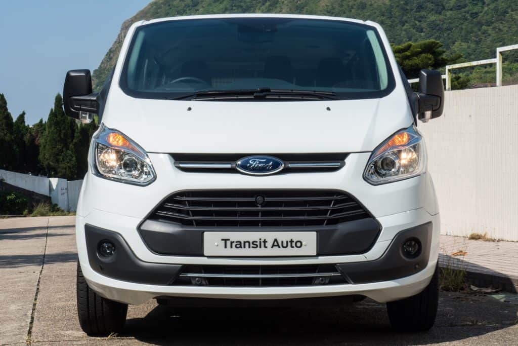 Ford Transit Auto front angle