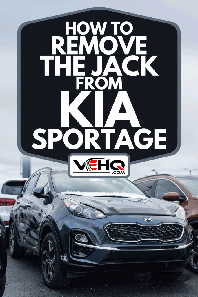 2020 Kia Sportage SUV parked at a dealership, How To Remove The Jack From Kia Sportage