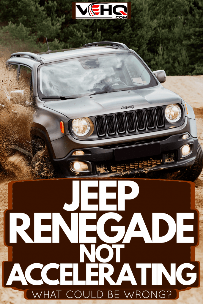 A jeep renegade moving on the sandy terrain, Jeep Renegade Not Accelerating - What Could Be Wrong?