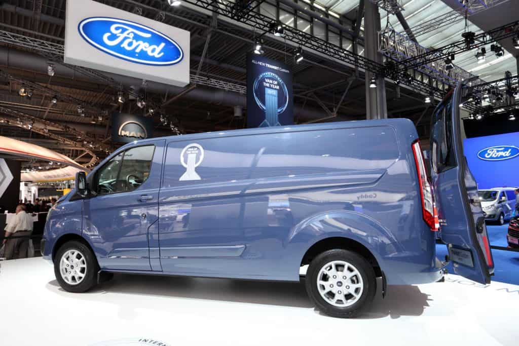 New Ford Transit Van at the International Motor Show for Commercial Vehicles, Can A Ford Transit Fit In A Carwash?