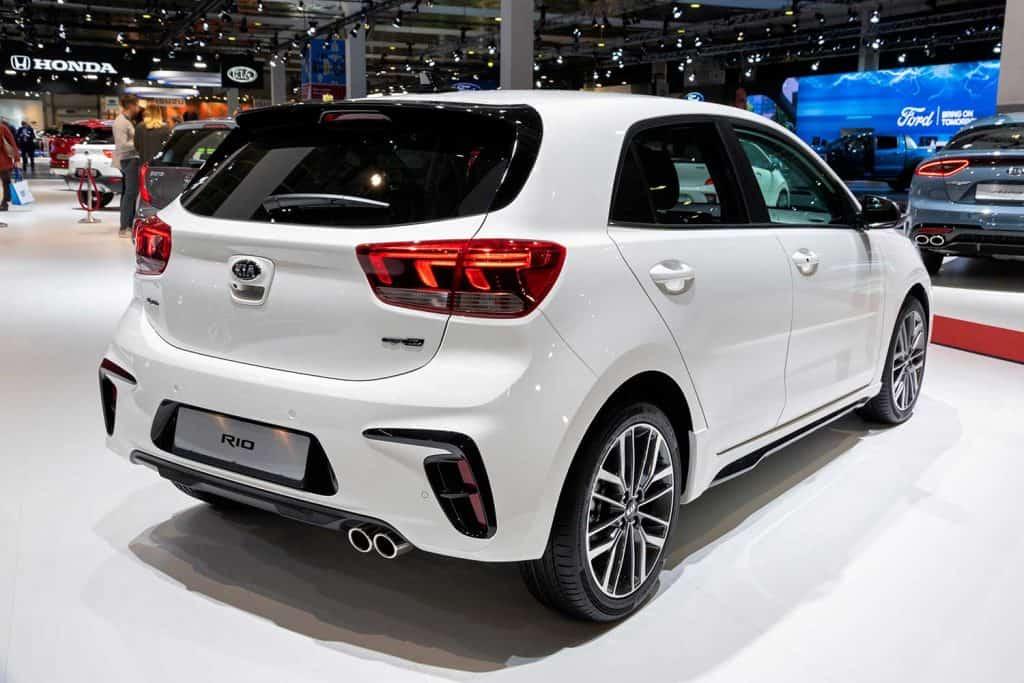 New Kia Rio car model showcased at 2020 Motor Show