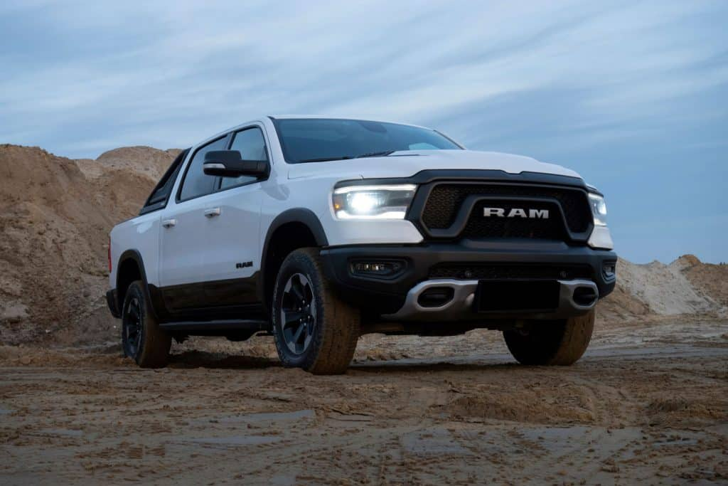 RAM 1500 Rebel stopped on unmade road, 3 Best Oil Options For Dodge Ram 1500