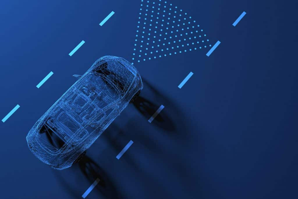 Self driving smart vehicle