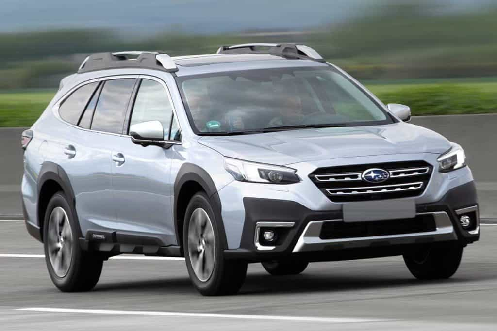 Subaru Outback Legacy fifth generation on a highway, Does Subaru Outback Have 4 Wheel Drive?
