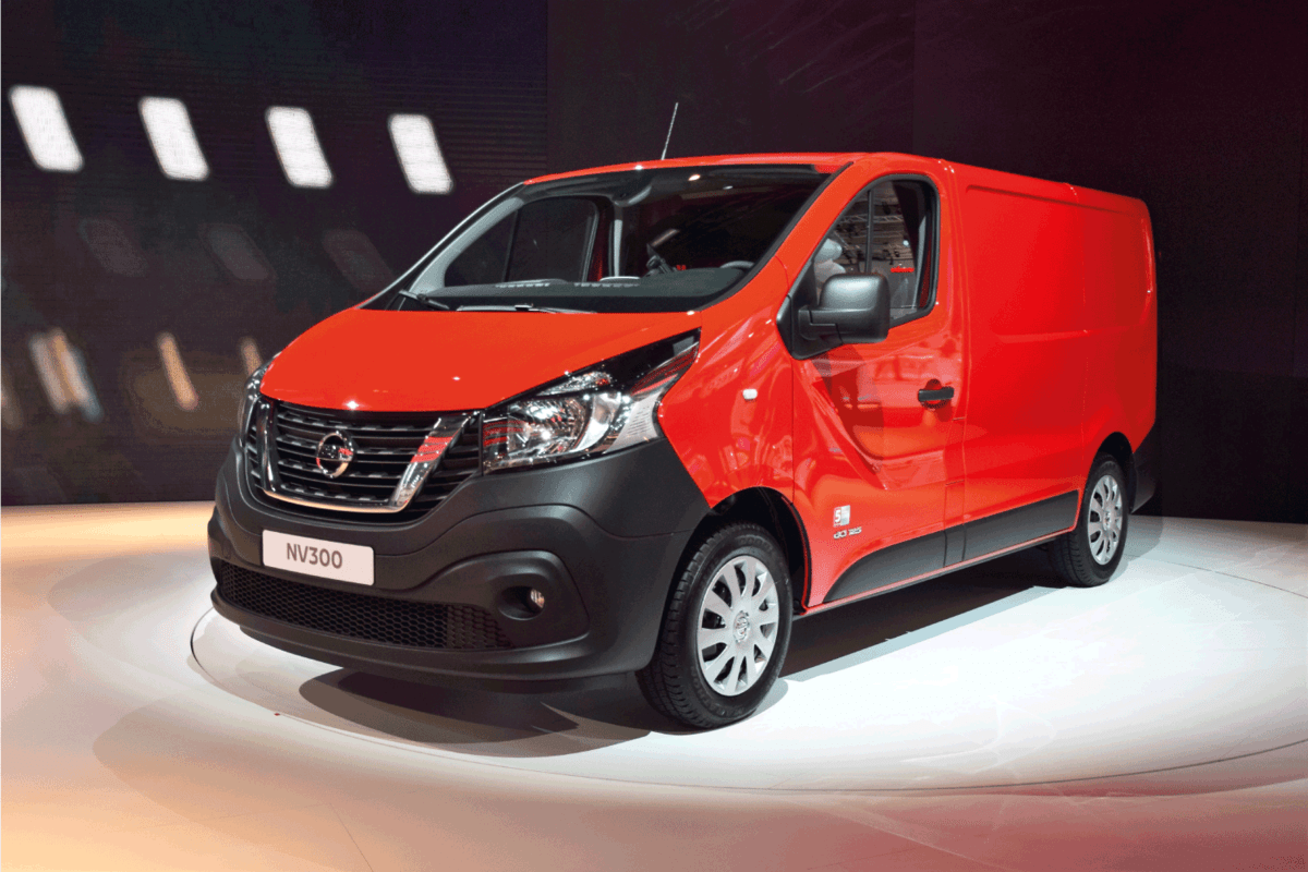 The presentation of the new light commercial vehicle Nissan NV300 on the motor show. How Much Can A Nissan NV Tow [Inc. 2500 And 3500]