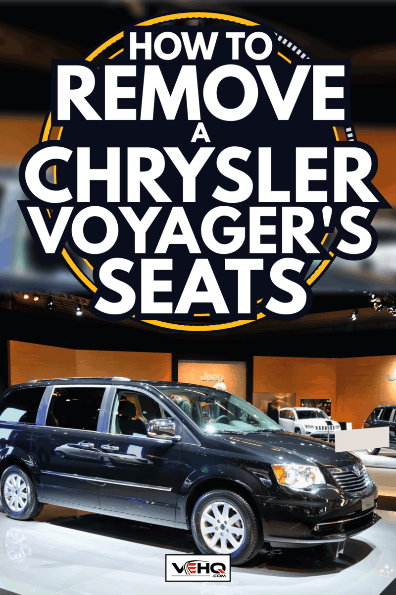 black chrysler voyager on display at the international motor show. How To Remove A Chrysler Voyager's Seats