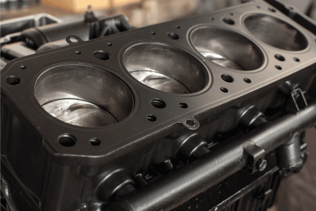 petrol engine with cylinder head removed. Is A Bigger Combustion Chamber Better