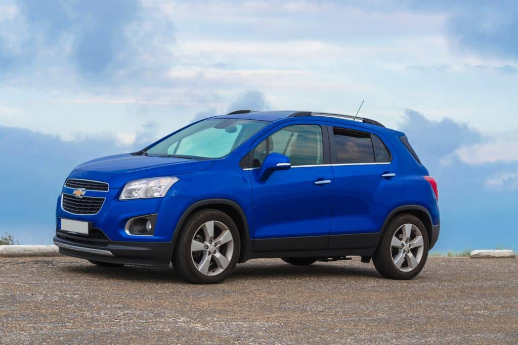 Chevrolet Trax in the dunes