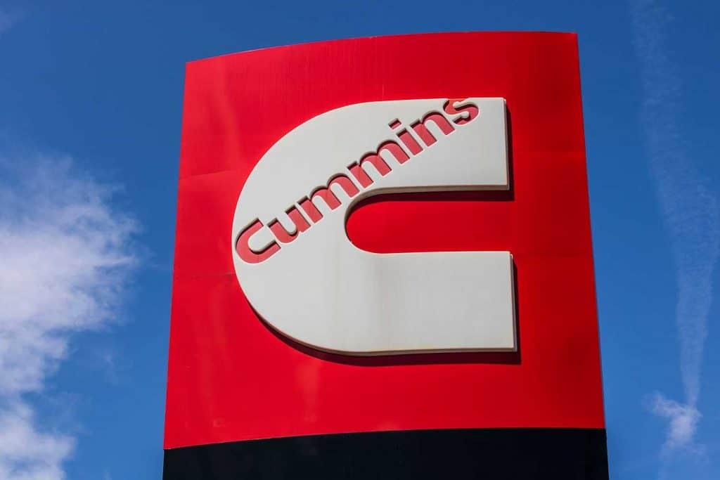 Cummins Incorporated signage and logo