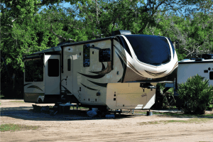Read more about the article 15 Toy Hauler RVs With 14 Foot Garage