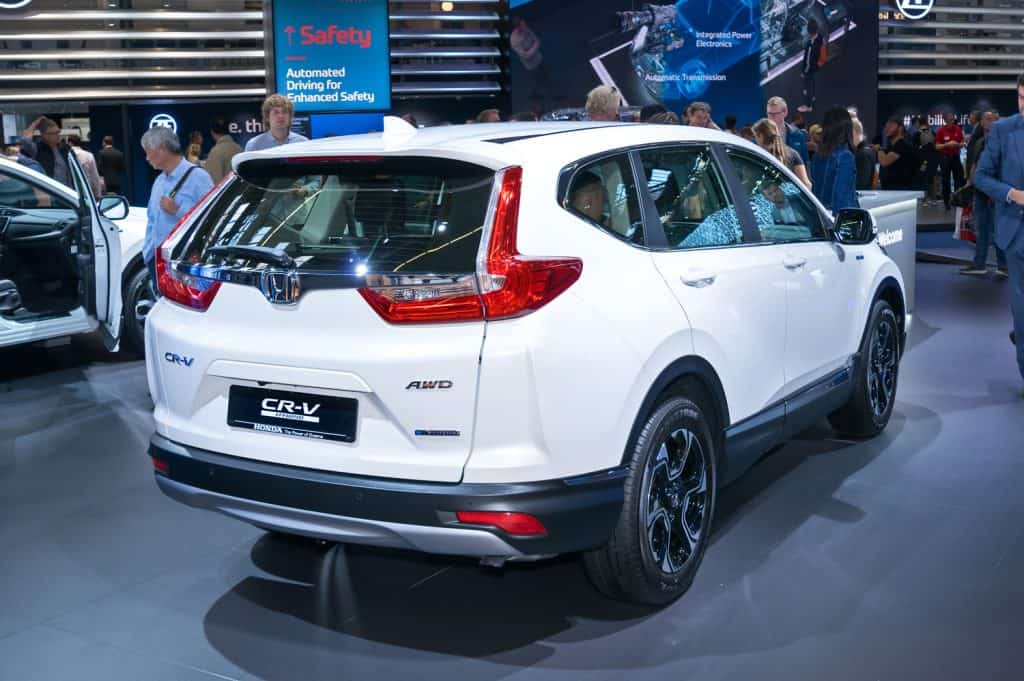 Honda CR-V Hybrid at the Frankfurt International Motor Show