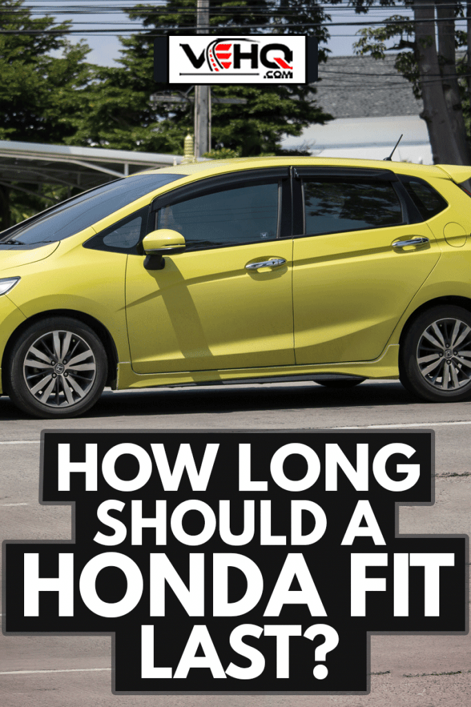 Private city Car Honda Fit. Five door hatchback automobile, How Long Should A Honda Fit Last?