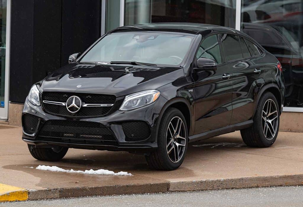 Mercedes-Benz AMG GLE 43 4MATIC Coupe at a dealership