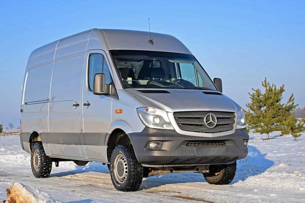 Mercedes-Benz Sprinter in winter scenery, Does Mercedes Sprinter Have Cruise Control?