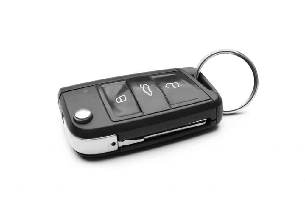 Modern car flip key