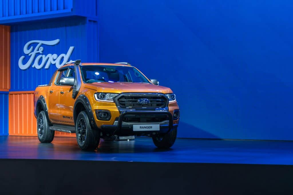 New Ford Ranger Raptor Wildtrak X on display in Motor Expo