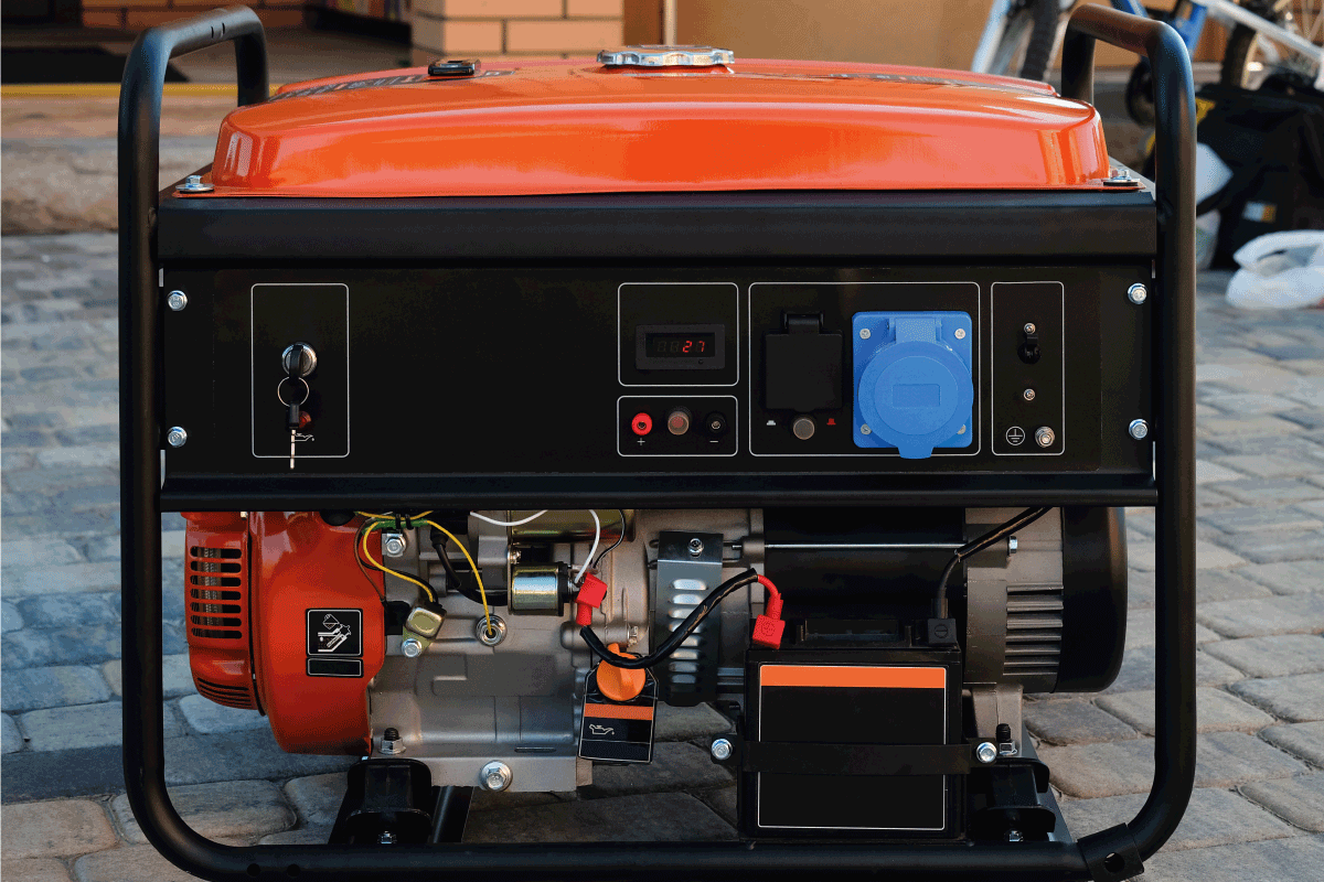 Panel portable electric generator. Electric power supply. How To Start A Troy Bilt Generator