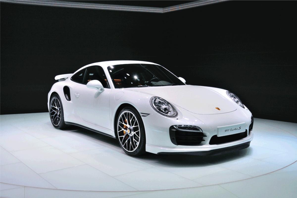 Porsche 911 Turbo S presented as world premiere