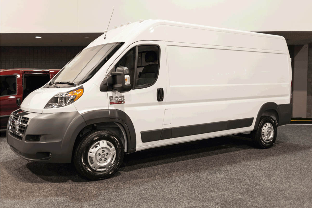 RAM 2500 Promaster on display during the 2015 Charlotte International Auto Show