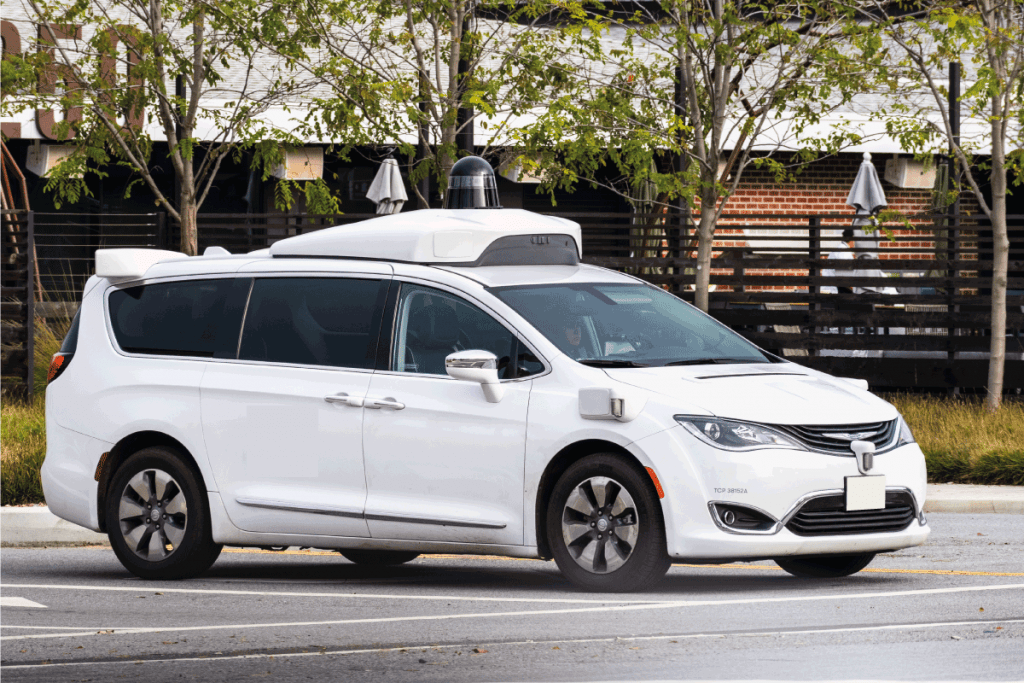 chrysler-pacifica-on-the-streets-of-Los-Angeles-used-as-a-self-driving-test-car.-Can-A-Chrysler-Pacifica-Tow-A-Camper