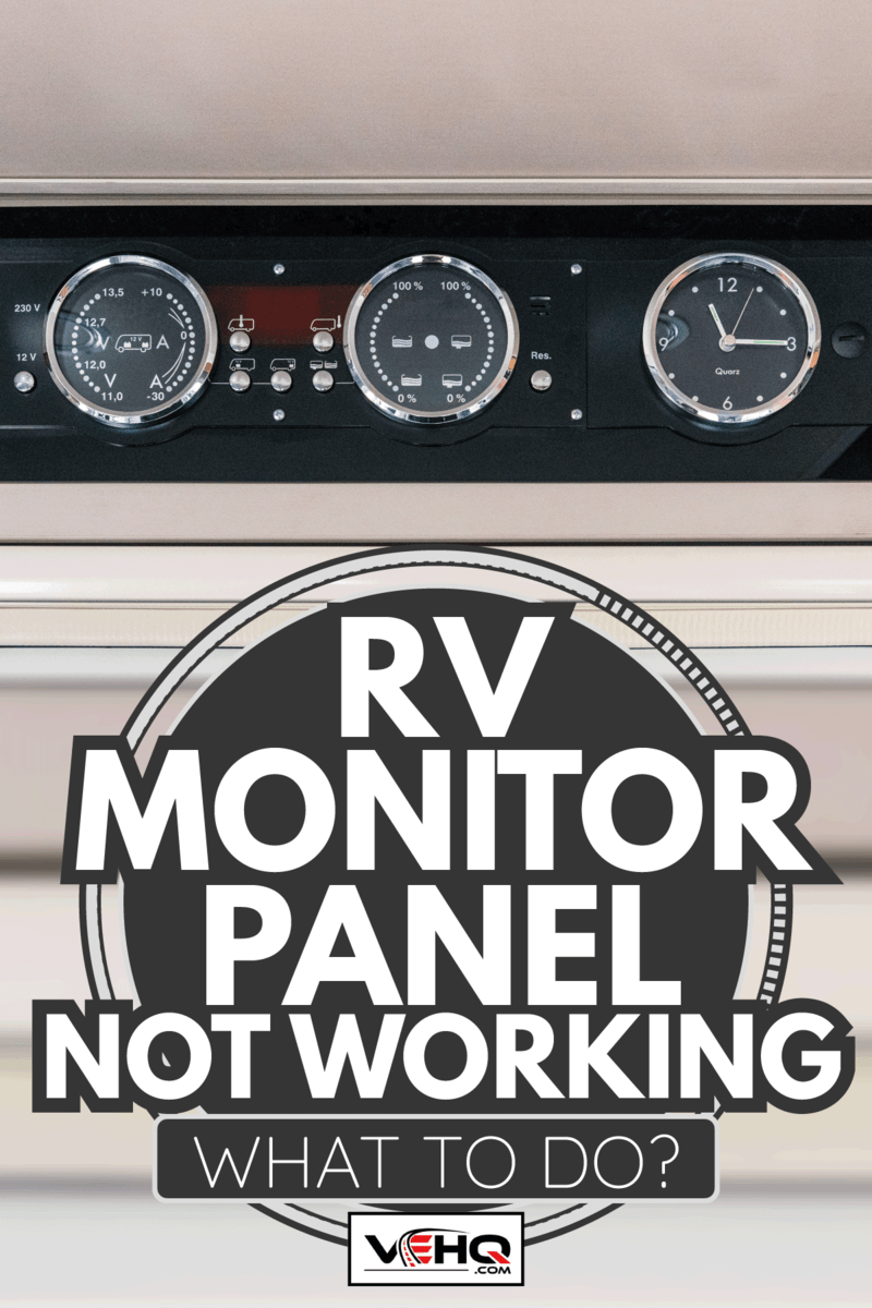 RV Monitor Panel Not Working - What To Do