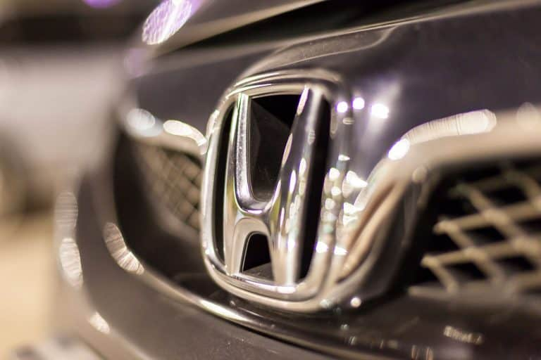 A Honda Odyssey emblem photographed up close, Honda Odyssey Won't Start—What To Do?