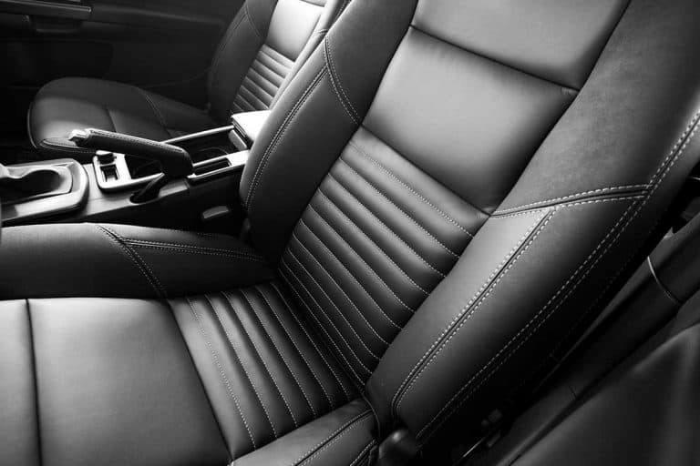 A black leather seat of a vehicle, Do Leather Car Seats Need Conditioning?