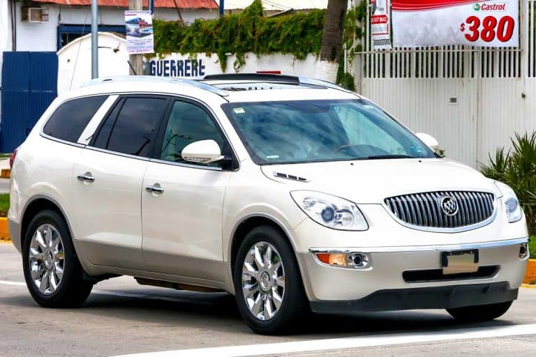 A motor car Buick Enclave in the city street, How Long Does A Buick Enclave Last?